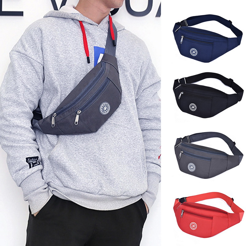 Chest bag Nylon Waist Bag Women Belt Bag Men Fanny Pack Fashion Colorful Bum Bag Travel Purse Phone Pouch Pocket hip bag 1