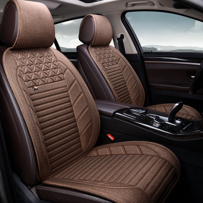 Car Seat Cover Covers for Car for Toyota Allion Avensis T25 Caldina Camry 30 40 50 55 <font><b>70</b></font> <font><b>2018</b></font> Corolla 120 E150 2014 Harrier image