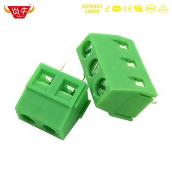 KF127 5 0 2P 3P PCB uniwersalny śruby skynka zaciskowa DG127 5 0mm 2PIN 3PIN MKDSN 1 5 2- 5 0 1729018 phoenix contact firma DEGSON YANNIU tanie i dobre opinie NoEnName_Null Rohs CN (pochodzenie) Śruba 1-10 KF127-5 0 11-20 AWG CHINA PA66 UL94V-0 BRASS TIN PLATING M2 5 STEEL PLATING CR3+PASSIVATION COLOR ZINC