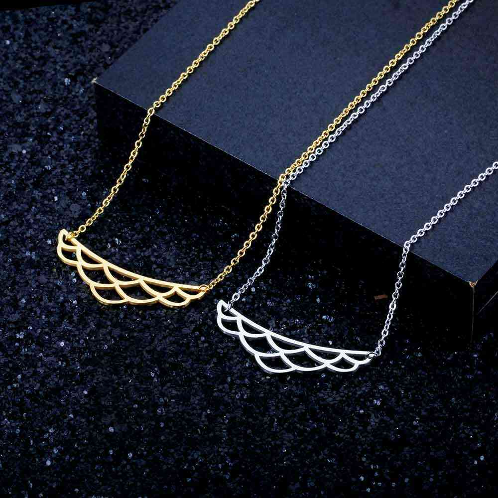 100% Real Stainless Steel Hollow Lotus Necklace Unique Jewelry Necklace Fashion Pendant Necklaces Personality Jewelry