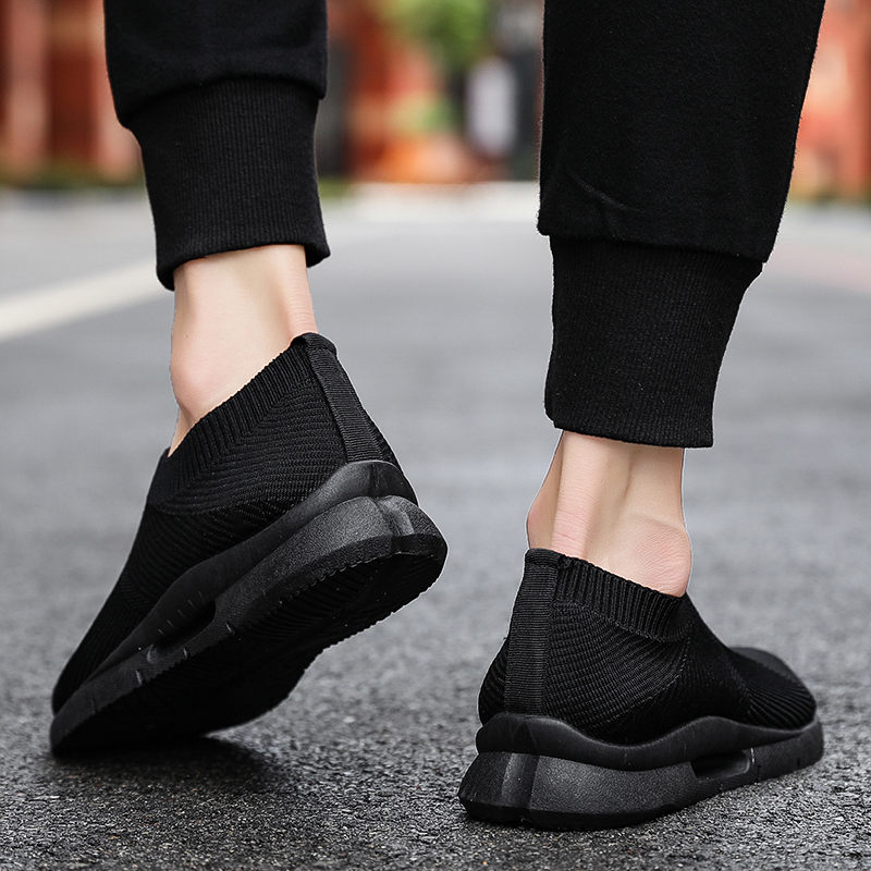 Damyuan Men Light Running Shoes Jogging Shoes Breathable Man Sneakers Slip on Loafer Shoe Men's Casual Shoes Size 46 2020 6