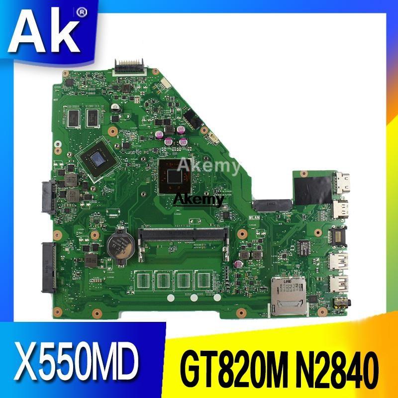X550MD REV 2,0 GT820M 2GB placa base ASUS X550M X552M Y582M X550MD X550MJ X552M placa base N2840 CPU 2.167 GHZ-in Placas base from Ordenadores y oficina on AliExpress - 11.11_Double 11_Singles' Day 1