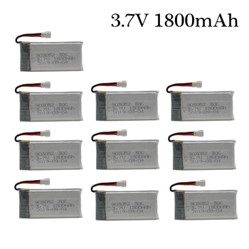 3.7v 1800mAh Rechargeable Battery for KY601S SYMA X5SW X5 M18 H5P 903052 3.7v Lipo battery XH2.54 Plug 1pcs to 10PCS image