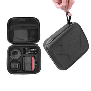 1 Pc Portable Anti-fall Hard EVA Storage Bag Travel Carrying Case for Insta360 ONE R