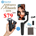 Feiyu Vlog Pocket, Vimble 2,3-Axis складной смартфон Gimbal стабилизатор для iPhone Xs Max Xr X 8 samsung S9 S8 Экшн-камера