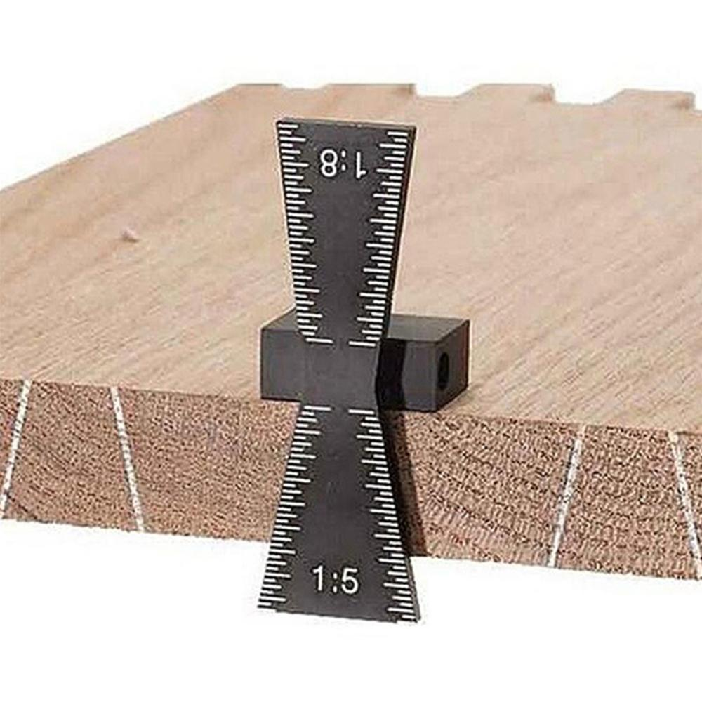 Woodworking Dovetail Marker Marking Gauge For Hardwood And Softwood Aluminum Alloy Measuring Tool