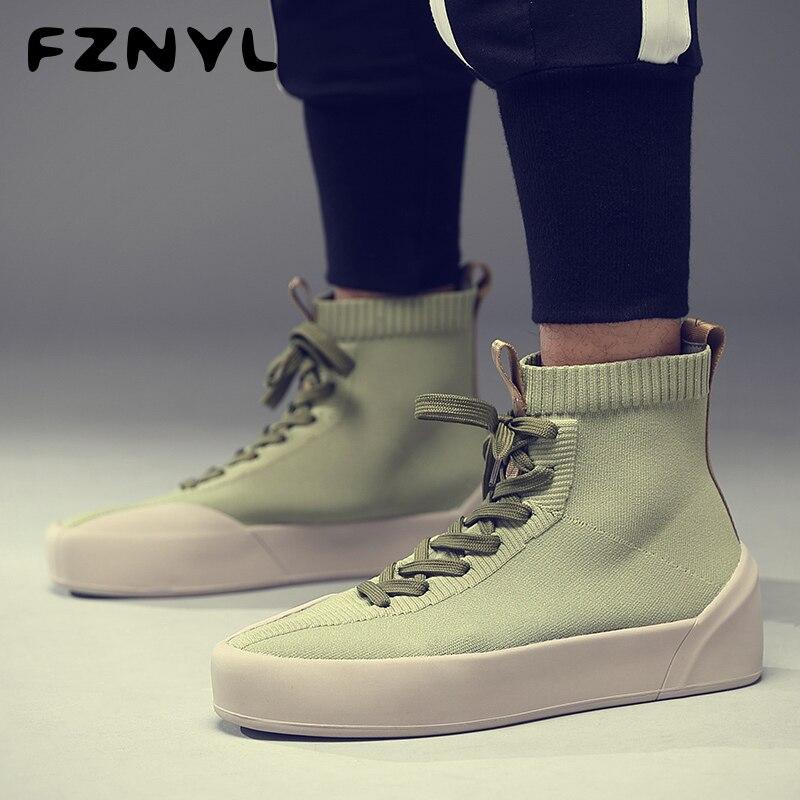 FZNYL Winter Men's Ankle Boots Short Plush Warm Fashion Casual Shoes Footwear Male Plus Size 38-45 Spring Autumn