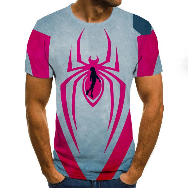 Summer Fashion 3D Printed T-shirt Men's/Women's T-shirt Harajuku Short-sleeved T-shirt Funny Individuality Shirt T-shirt 2