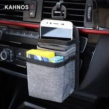Storage-Bag Car Mobile-Phone-Bag Air-Outlet