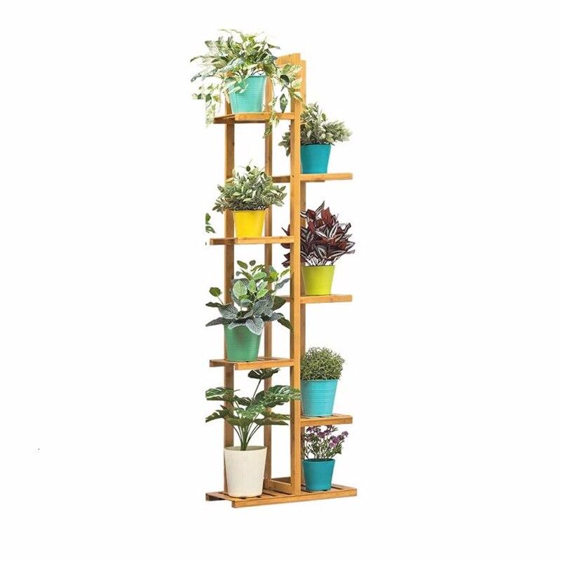 Suporte Huerto Urbano Madera Estante Para Flores Estanteria Escalera Dekoration Stojak Na Kwiaty Plant Rack Outdoor Flower Stand