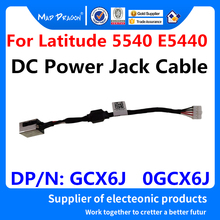 цена на new original DC IN Cable DC-IN DC Power Jack Connector Socket Cable For Dell Latitude 5540 E5440 VAW30 GCX6J 0GCX6J DC301000Q0