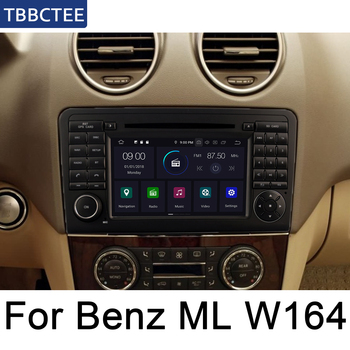 For Mercedes Benz ML320 ML350 W164 2005~2012 NTG android car dvd player Multimedia GPS Navigation Map radio Bluetooth wifi image