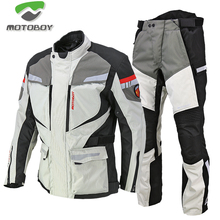 Motoboy motorcycle mens suit pull suit motorcycle suit motorcycle travel anti fall waterproof Knight suit four seasons