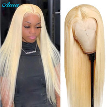 Ama 613 Honey Blonde Lace Front Wig Brazilian Transparent Part Lace Wigs Blonde Wig 30 inch Human Hair Wigs For Black Women Remy