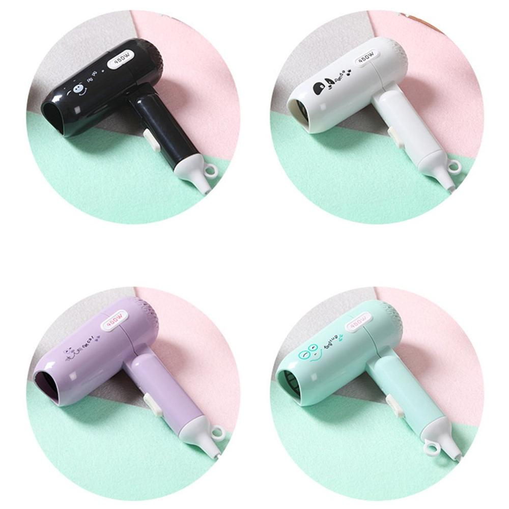 Mini Small Power Portable Folding Hair Dryer Hair Dryer Student Dormitory Small Household Appliances Electric Hair Dryer