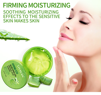 Natural Aloe Vera Gel Smooth Sun Repair Hydrating Whitening Cream Face Acne For Men Moist Treatment Skin Care
