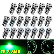 Yiastar 50 шт t5 74 37 светодиодный светильник лампы 17 18 70