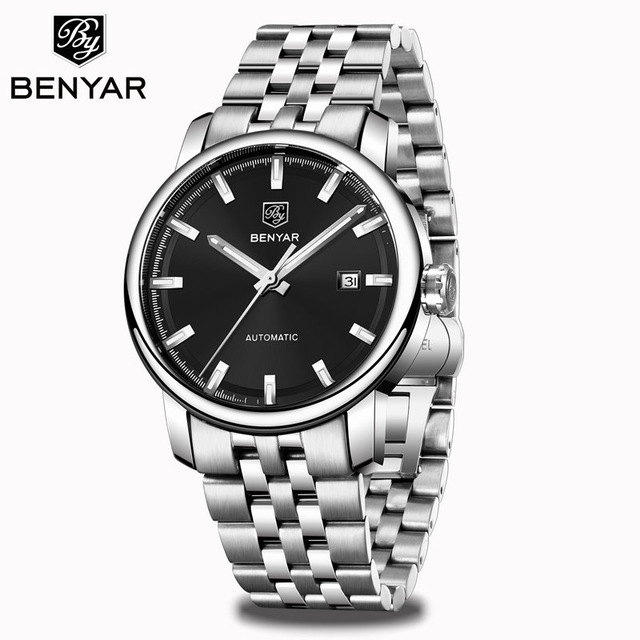 2020 New BENYAR Men's Mechanical Watches Automatic Mens watches Top Brand Luxury watch men WristWatch Military Relogio Masculino 11