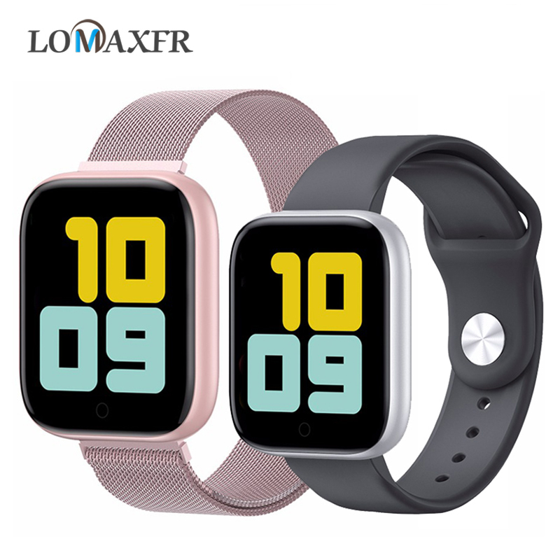 T85 Smart Watch Android Watches for Women Color Screen Men Sport <font><b>SmartWatch</b></font> Heart Rate Monitor Fitness Bracelet Pk P70 Pk <font><b>F10</b></font> image