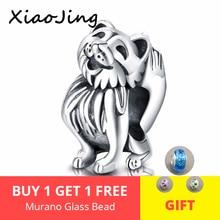 New Design 100% 925 Sterling Silver Cute fox animal charm beads fit pandora original bracelet for women jewelry free shipping цена