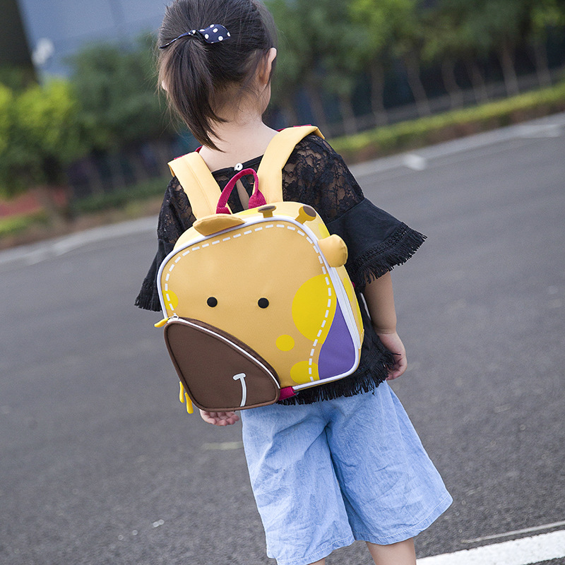 Korean-style 2019 Spring New Style CHILDREN'S Bag Kindergarten Customizable School Bag Young STUDENT'S Backpack Cartoon Cute