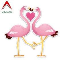 50 unidades de pegatinas de flamenco para pared con dise/ño de graffiti Flamingo resistentes al agua Pegatinas de flamenco