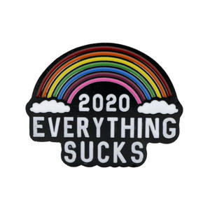 2020 EVERYTHING SUCKS Enamel Brooch Pins Backpacl Lapel Pin Cloud Badge Pins Brooches