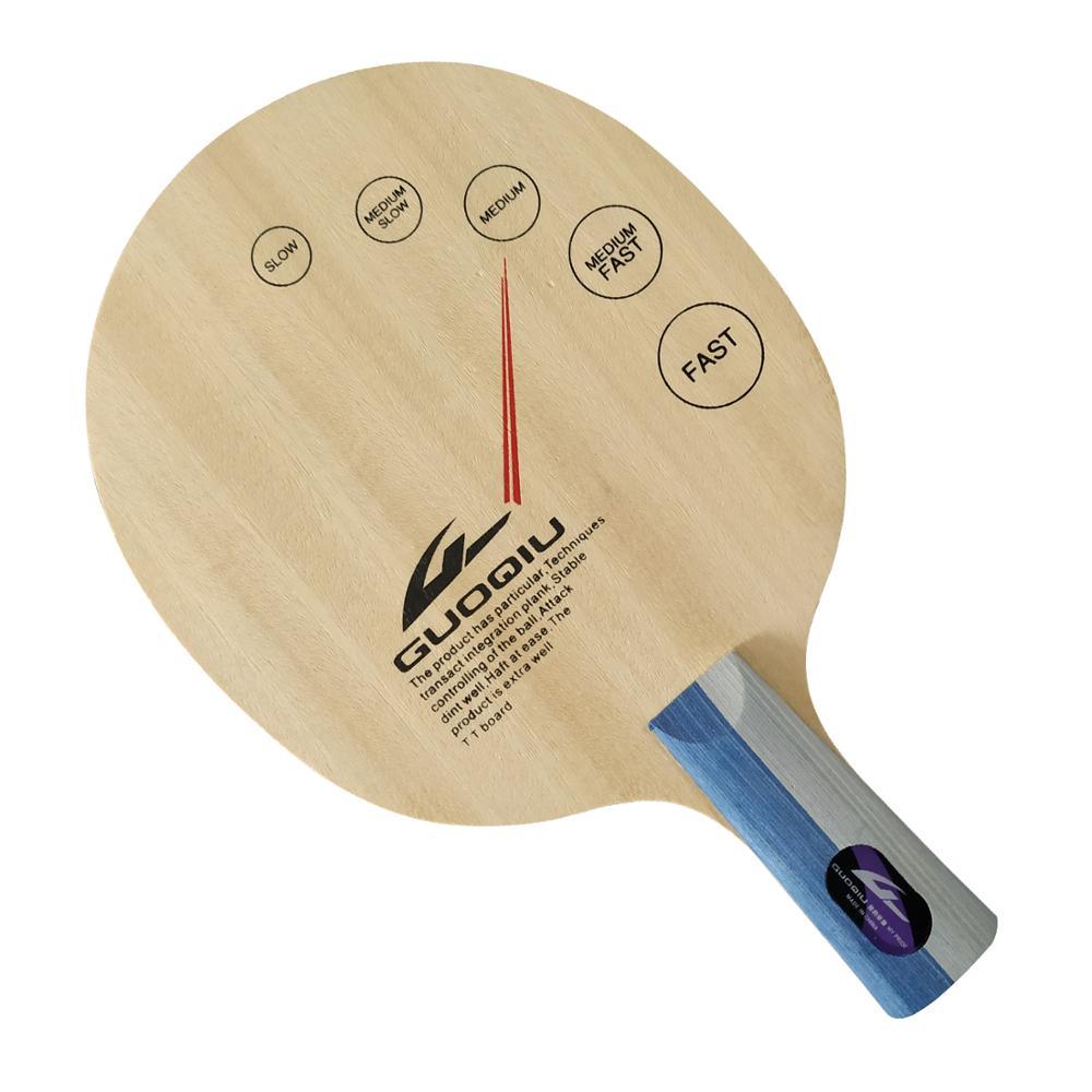 GuoQiu W-01 W 01 W01 Super-Light Shakehand Table Tennis Blade For Ping Pong Racket