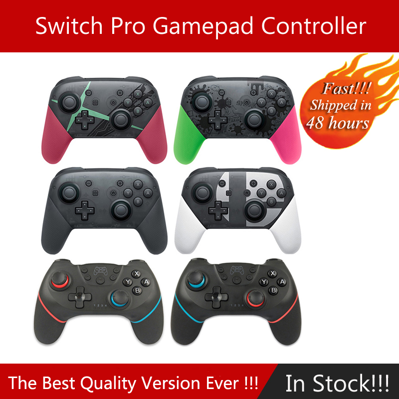 For Switch Pro Bluetooth Wireless Controller For NS Splatoon2 Remote Gamepad For Nintend Switch Console Joystick Switch Lite(China)