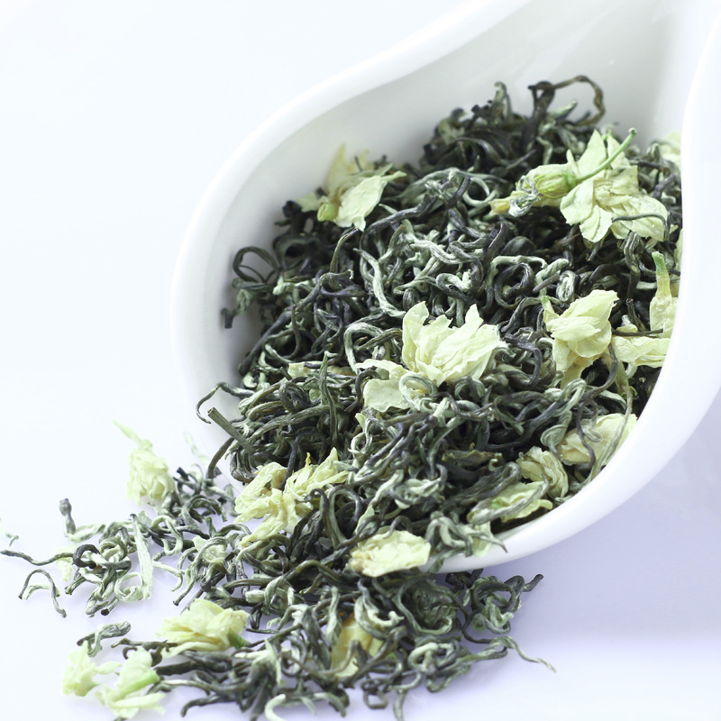 Chinese Jasmine Flower Green Tea Real Organic New Early Spring Jasmine Tea for Weight Loss Green Food Health Care 1