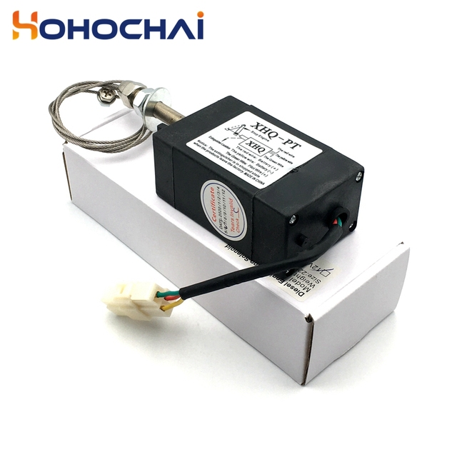 XHQ-PT 12V 24V Power Off pull Type Diesel Engine Accessory Stop Solenoid 6