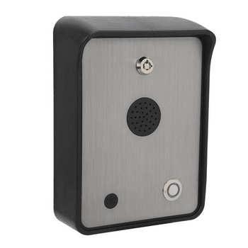 Kontrola dostępu Systerm GSM‑HELP zestaw głośnomówiący Audio domofon Alarm alarmowy wywołanie dostępu system kontroli dostępu GSM-HELP tanie i dobre opinie NONE CN (pochodzenie)