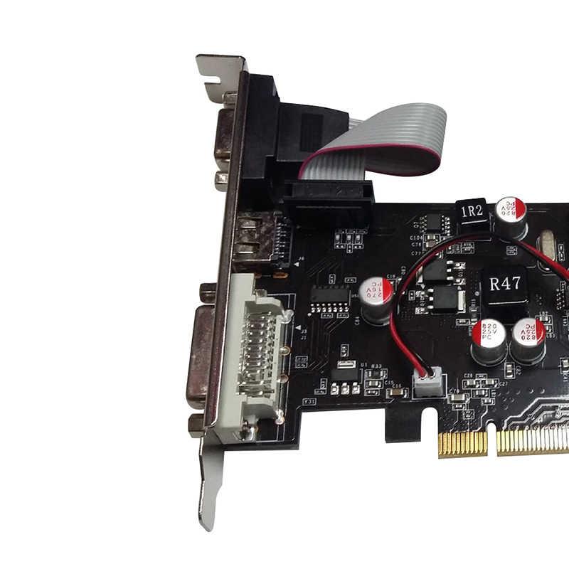 مع نفيديا نصف ارتفاع الرسومات GT610 1GB GT 610 1G D2 64bit بطاقة نصف ارتفاع