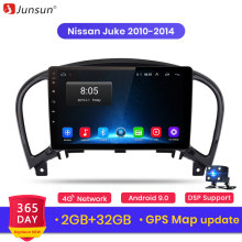 Junsun V1 Android 9.0 2G + 32G Dsp Auto Radio Multimedia Video Player Voor Nissan Juke Navigatie Gps 2din Autoradio(China)