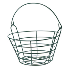 Baskets Carrying-Holder for Outdoor Storage-Container Steel-Wire Practice Metal Small