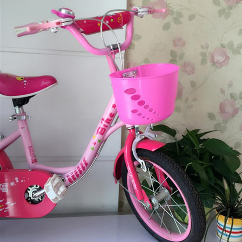 children/'s bike basket plastic bicycle bag kids scooter handle bar baskeNWUS