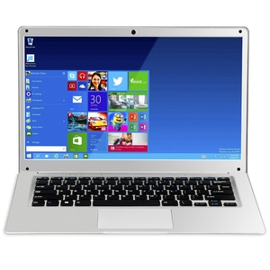 14 Inch 1080P Laptop 2GB RAM 32GB EMMC Atom Z8350 Quad Core CPU Windows 10 System Notebook Computer(US Plug)