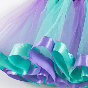 Image 4 - フリーヘッドバンド女の子スカートミニマーメイドチュチュパーティープリンセスチュチュドレスふわふわ誕生日子供服 2 7 年の女の子服