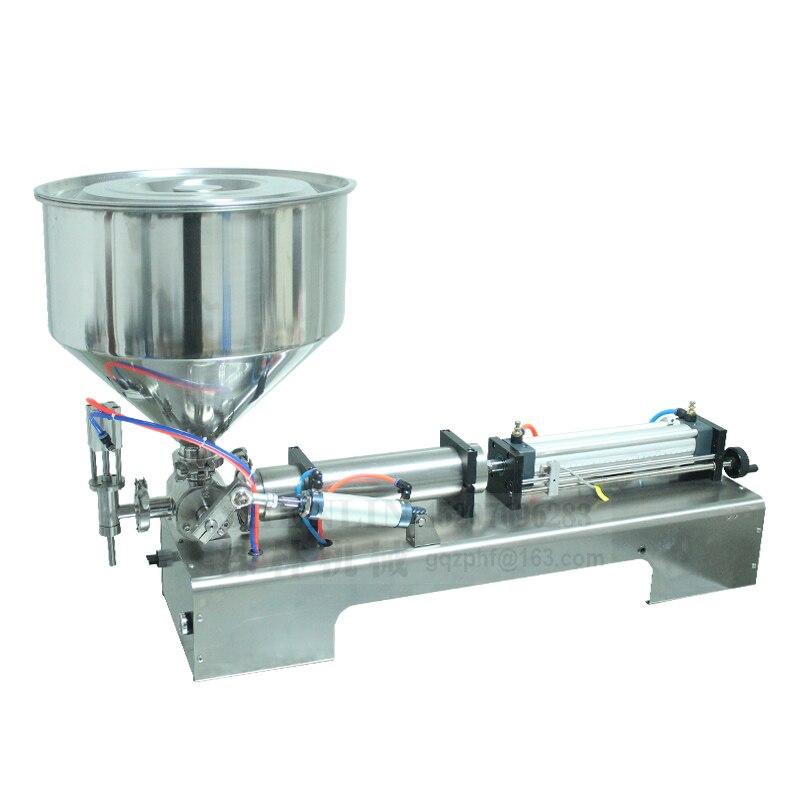 Alcohol Gel Filling Machine Olive Oil Filling Filler Machinery Bottling Equipment Tool Sauce Shampoo,cosmetic,lemon Juice 1000ml