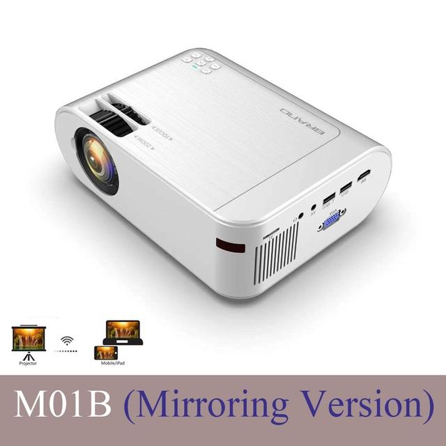 CRENOVA M01B Projector LED 854x480 3D Mirroring