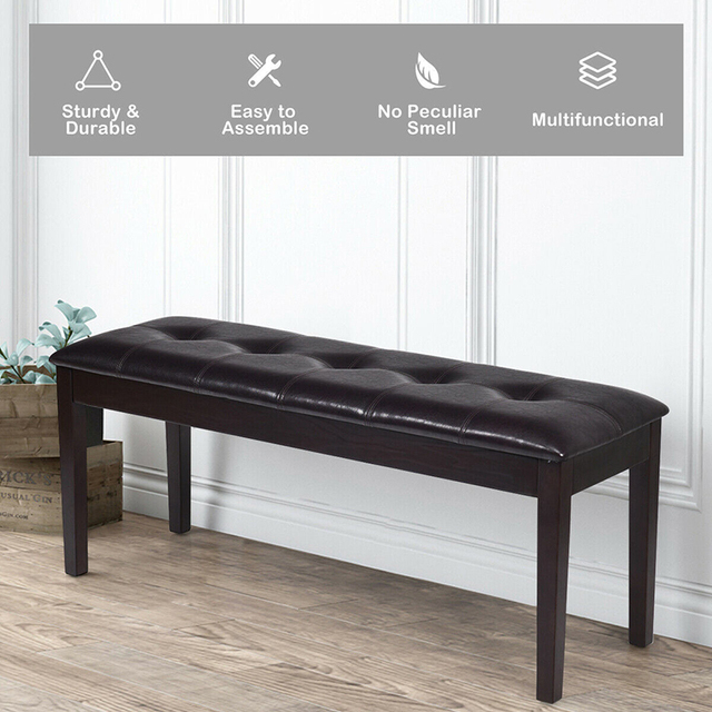 Upholstered Dining Room Bench  2