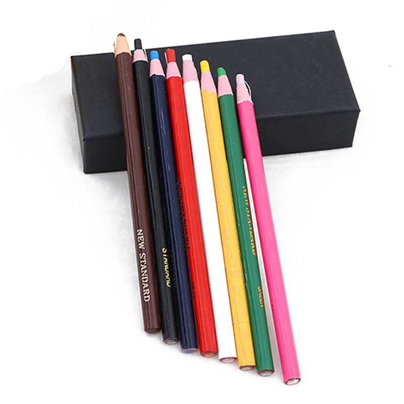 3PCS/set Peel Off Marker Grease Pencil Colored Crayon Pen Paper Roll Wax Pencil Graffiti Drawing Tool For Metal Glass Fabric