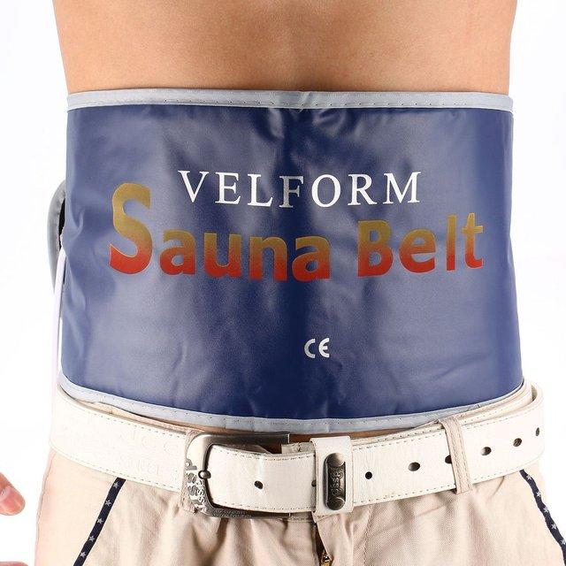 Heating Beauty Slimming Belt Health Care Body Tummy Waist Sweat Massager Massage Sauna Exercise Wrap Belts Fat Cellulite Burner
