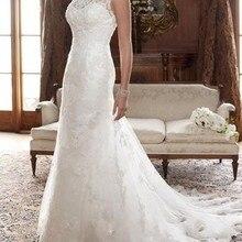 free shipping custom femininas gowns with sheer sleeves LACE bead Ball BRIDAL ivory white Custom siz