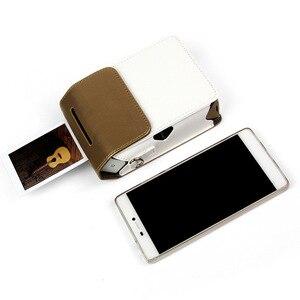 Image 3 - Fujifilm Instax teilen SP2 foto drucker SP2 teilen smartphone drahtlose foto drucker hartplastik fall leder kamera tasche