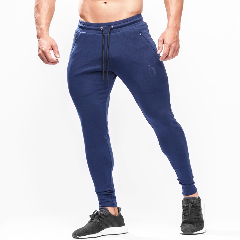 Joggers Sweatpants Running Track Pants Men Casual Skinny Cotton Pants Gym Fitness Bodybuilding Training Trousers Male Sportswear