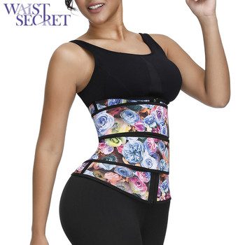 WAIST SECRET Shapewear Body Shaper Waist Trainer Women Neoprene Shaper Weight Loss Tank Top Corset Belt Slimming Strap цена 2017