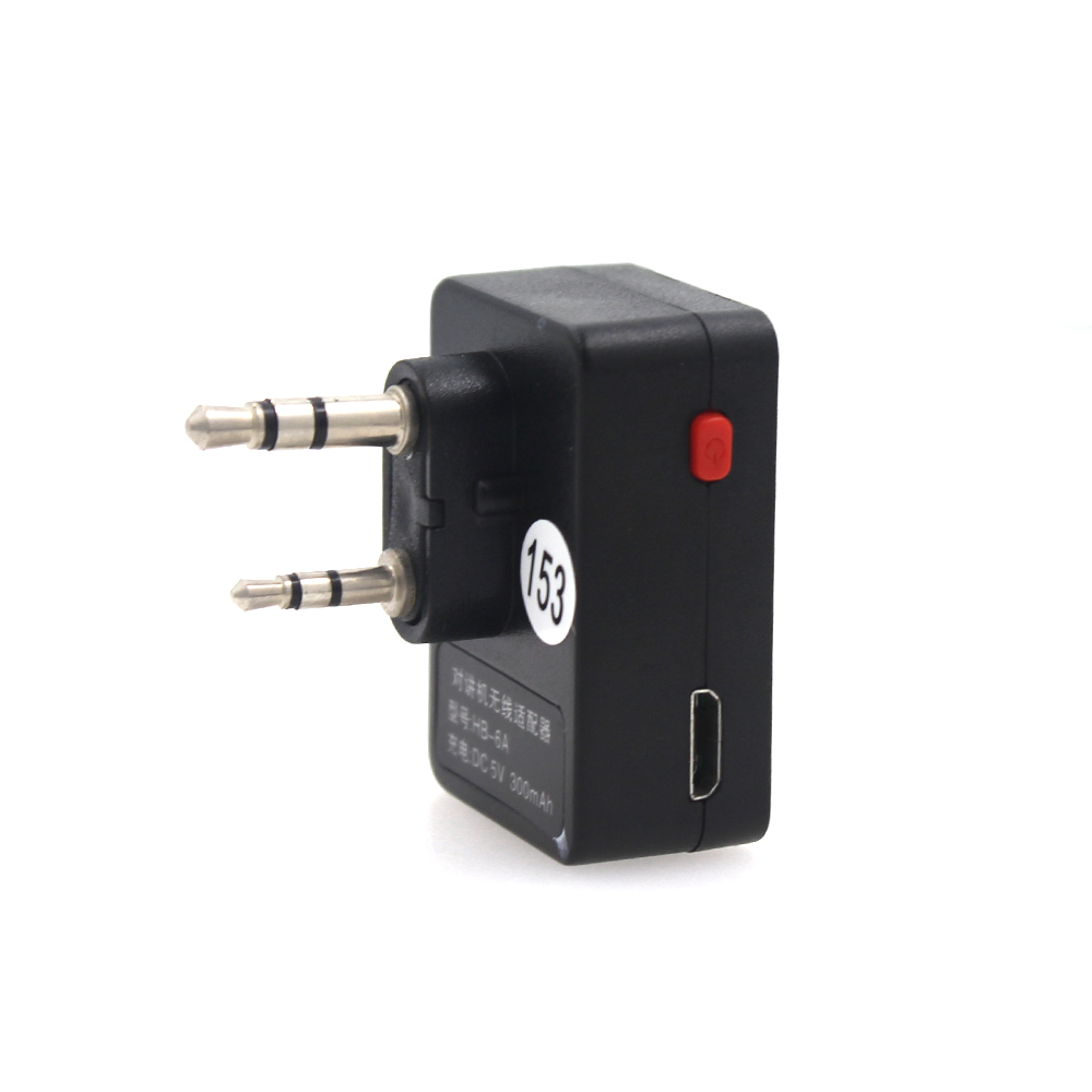 K Adapter For ANYSECU AC-BV8 AC-Bherdt Bluetooth PTT Headset