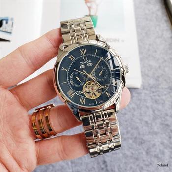 Top Brand Luxury Automatic Mechanical Watch Mens Watches Ceramics Sapphire Luminous Calendar Mechanical 007 Watch 9223