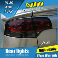 4PCS Auto Styling für Audi A4 B7 Rückleuchten für 2005-2008 A4 B7 LED Schwanz Lampe + Drehen signal + Bremse + Umge LED licht